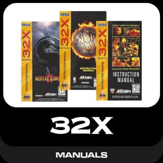 32X Manuals