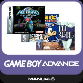 Gameboy Advance Manuals