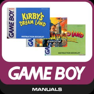 Gameboy Classic Manuals