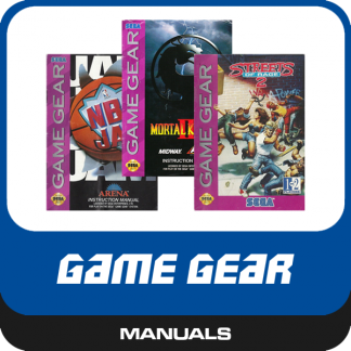 Game Gear Manuals