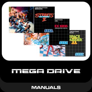 Mega Drive Manuals