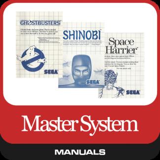 Master System Manuals