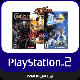 PS2 Manuals