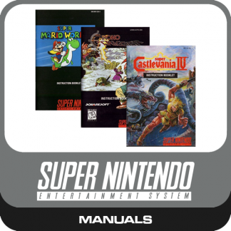 SNES-Manuals
